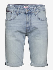 Tommy Jeans - RONNIE  RELAXED SHOR - denim shorts - devi lt bl com - 0