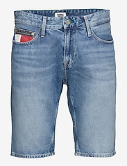 Tommy Jeans - SCANTON HERITAGE SHO - denim shorts - save 20 lt bl rig - 0