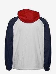 Tommy Jeans - TJM COLORBLOCK ZIPTHROUGH JACKET - tunna jackor - white / multi - 2