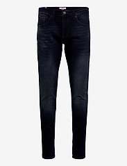 Tommy Jeans - AUSTIN SLIM DTBLKST - slim jeans - dutton blue black stretch - 0