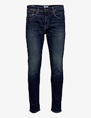 Tommy Jeans - AUSTIN SLIM DNDBST - slim jeans - danny dark blue stretch - 0