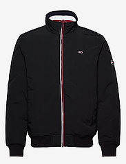 Tommy Jeans - TJM ESSENTIAL PADDED JACKET - kurtki puchowe - black - 1