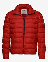Tommy Jeans - TJM PACKABLE LIGHT DOWN JACKET - padded jackets - deep crimson - 0