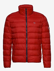 Tommy Jeans - TJM PACKABLE LIGHT DOWN JACKET - padded jackets - deep crimson - 1