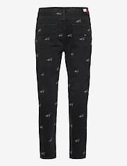 Tommy Jeans - DAD JEAN STRGHT SVCBKR - regular jeans - tj save fa critter black rigid - 1