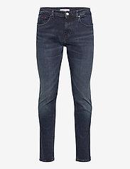 Tommy Jeans - AUSTIN SLIM MDBST - slim jeans - midnight dark blue str - 0