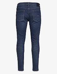 Tommy Jeans - AUSTIN SLIM QDBST - slim jeans - queens dark blue str - 1
