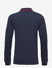 Tommy Jeans - TJM STRETCH SLIM LONGSLEEVE POLO - long-sleeved polos - twilight navy 654-860 - 1