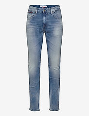 Tommy Jeans - AUSTIN SLIM TAPERED WLBS - slim jeans - wilson light blue stretch - 0