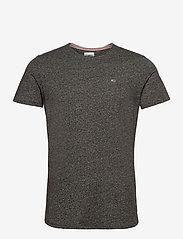 Tommy Jeans - TJM SLIM JASPE C NECK - basic t-shirts - black - 0