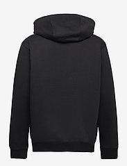 Tommy Jeans - TJM REGULAR FLEECE ZIP HOODIE - hoodies - black - 1