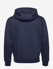 Tommy Jeans - TJM REGULAR FLEECE ZIP HOODIE - basic sweatshirts - twilight navy - 1