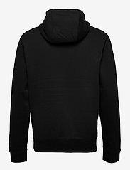Tommy Jeans - TJM REGULAR FLEECE HOODIE - hoodies - black - 1