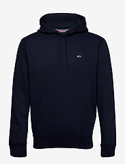 Tommy Jeans - TJM REGULAR FLEECE HOODIE - basic sweatshirts - twilight navy - 0