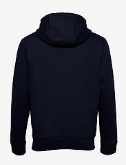 Tommy Jeans - TJM REGULAR FLEECE HOODIE - basic sweatshirts - twilight navy - 1
