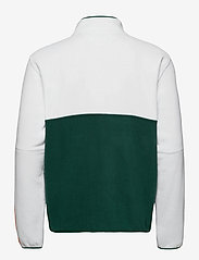 Tommy Jeans - TJM MIX FABRIC MOCK NECK C - basic-sweatshirts - white / multi - 1