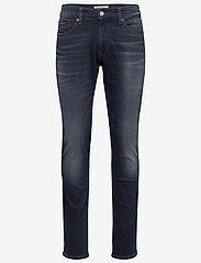 Tommy Jeans - SCANTON SLIM COBBS - slim jeans - cornell bl bk str - 0