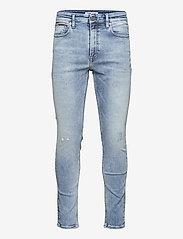 Tommy Jeans - SIMON SKNY DFLBSD - skinny jeans - dyn freeman lb str destr - 0