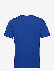 Tommy Jeans - TJM LINEAR LOGO TEE - basic t-shirts - cobalt - 1