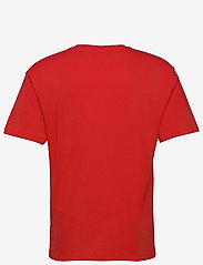 Tommy Jeans - TJM LINEAR LOGO TEE - basic t-shirts - deep crimson - 1