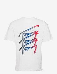 Tommy Jeans - TJM TOMMY REPEAT SCRIPT TEE - korte mouwen - white - 1