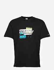 TJM FADED COLOR GRAPHIC TEE - BLACK