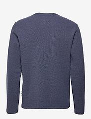Tommy Jeans - TJM MINI WAFFLE JASPE LONGSLEEVE - basic t-shirts - twilight navy htr - 1