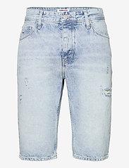 Tommy Jeans - ETHAN RLXD DENIM SHORT SSPLBRD - short en jean - save sp lb rgd destr - 0