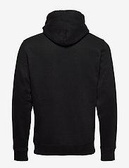 Tommy Jeans - TJM SHINE STRAIGHT LOGO HOODIE C - hoodies - black - 1