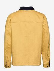 Tommy Jeans - TJM BADGE WORKER JACKET - tunna jackor - dusty gold - 1