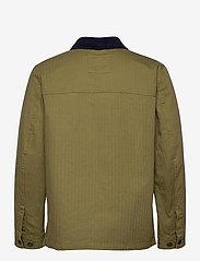 Tommy Jeans - TJM BADGE WORKER JACKET - tunna jackor - uniform olive - 1