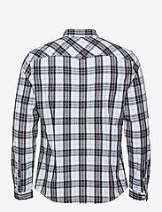 Tommy Jeans - TJM SEASONAL CHECK SHIRT - jeansskjortor - white / multi - 1