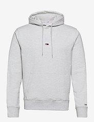 Tommy Jeans - TJM LIGHTWEIGHT TOMMY HOODIE - hoodies - silver grey htr - 0