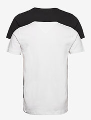 Tommy Jeans - TJM 2PACK CNECK TEES - basic t-shirts - white / black - 2