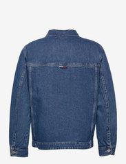 Tommy Jeans - BOXY SHIRT JACKET AE731 SVMBR - denim jackets - denim medium - 1
