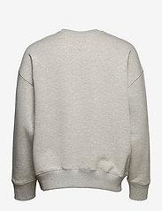 Tommy Jeans - TJM TOMMY BADGE CREW - kläder - lt grey htr - 1