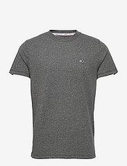 Tommy Jeans - TJM SLIM C NECK TEE - basic t-shirts - black - 0
