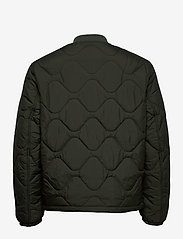 Tommy Jeans - TJM QUILTED BOMBER - quilted jackets - dark olive - 1