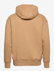 Tommy Jeans - TJM TINY TOMMY CIRCULAR HOODIE - hoodies - classic khaki - 1