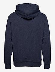 Tommy Jeans - TJM STRAIGHT LOGO HOODIE - hoodies - twilight navy htr - 1