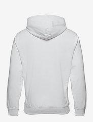 Tommy Jeans - TJM STRAIGHT LOGO HOODIE - hoodies - white htr - 1