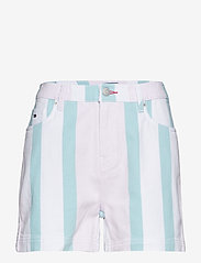 Tommy Jeans - TJW COLORBLOCK STRIPE SHORT - bermudas - bold pastel stripe - 0
