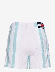 Tommy Jeans - TJW COLORBLOCK STRIPE SHORT - bermudas - bold pastel stripe - 1
