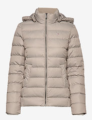 Tommy Jeans - TJW ESSENTIAL HOODED - padded jackets - mourning dove - 2