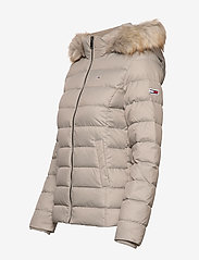 Tommy Jeans - TJW ESSENTIAL HOODED - padded jackets - mourning dove - 4