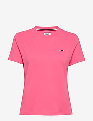 Tommy Jeans - TJW TOMMY CLASSICS T - t-shirts - glamour pink - 0