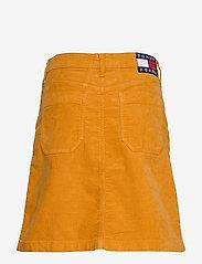 Tommy Jeans - TJW A LINE CORDUROY SKIRT - midi skirts - inca gold - 1