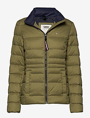 Tommy Jeans - TJW MODERN DOWN JACKET - padded jackets - martini olive - 0