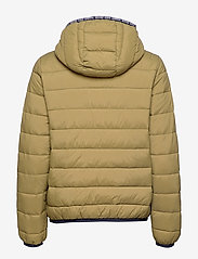 Tommy Jeans - TJW QUILTED TAPE DETAIL JACKET - padded jackets - martini olive - 2