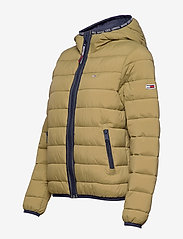 Tommy Jeans - TJW QUILTED TAPE DETAIL JACKET - padded jackets - martini olive - 3
